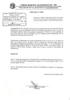Portaria nº 15/2021 - Prorroga até dia 11/04/2021 as medidas estabelecidas na Portaria nº 12/2021.